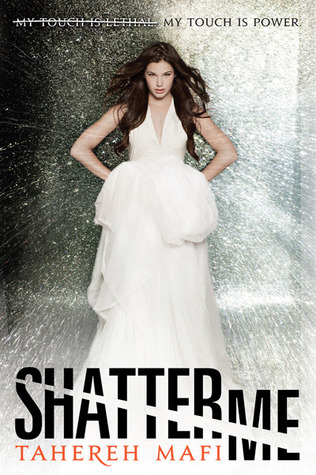 Book cover Shatter Me by Tahereh Mafi