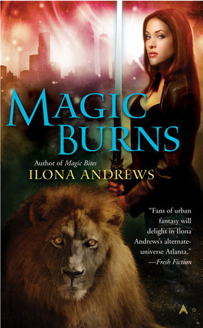 Book Review: Ilona Andrews' Magic Burns