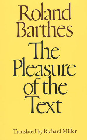 roland barthes pleasure of the text essay