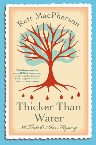 Thicker Than Water (Torie O'Shea, #8)