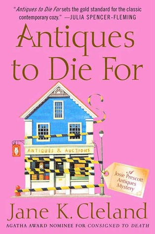 Book Review: Jane K. Cleland's Antiques to Die For