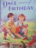 Once Upon a Birthday  by  Arthur Groom