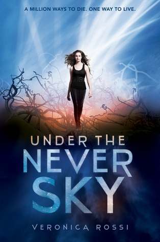 Under the Never Sky trilogy by Veronica Rossi book cover