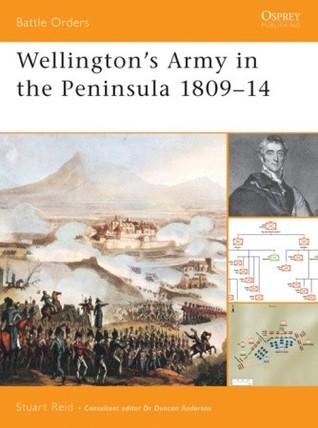 Wellingtons Army In The Peninsula 1809–14  by  Stuart Reid