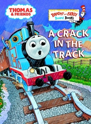 A Crack in the Track (Bright & Early Board Books) Wilbert Awdry