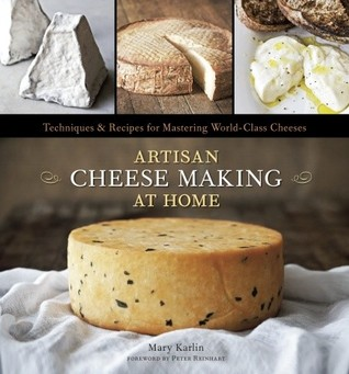 artisan cheese making at home cover