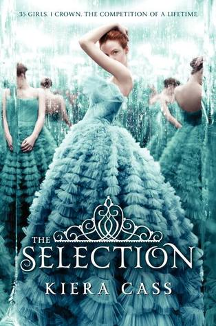 The Selection by Kiera Cass  book cover