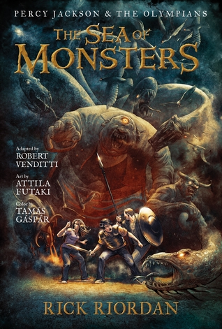 The Sea of Monsters: The Graphic Novel (Percy Jackson and the Olympians, #2)