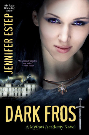 Dark Frost Mythos Academy series Jennifer Estep epub download and pdf download