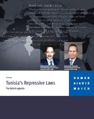Tunisia's Repressive Laws: The Reform Agenda  by  Human Rights Watch