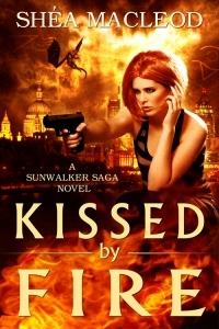 Kissed by Fire (Sunwalker Saga, #2)  - Shéa MacLeod