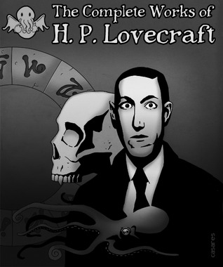 Photo of the e-book cover of The Complete Works of H.P. Lovecraft.