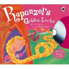 Rapunzels Golden Locks (Book & Cd) Emily Gale