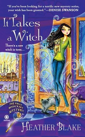 [Audiobook Review] It Takes a Witch by Heather Blake