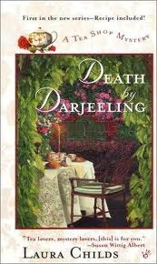 Death by Darjeeling (A Tea Shop Mystery, #1)