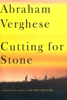 Jacket image, Cutting for Stone by Abraham Verghese