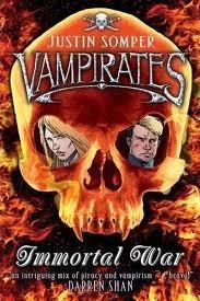 Immortal War (Vampirates #6)  - Justin Somper