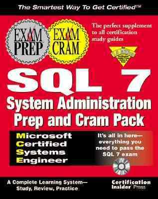 MCSE SQL 7 System Administration Prep and Cram Pack  by  Certification Insider Press