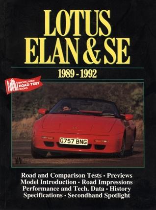 Lotus Elan & SE 1989-92 R.M. Clarke