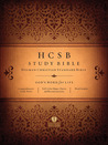 HCSB Study Bible, Jacketed Hardcover