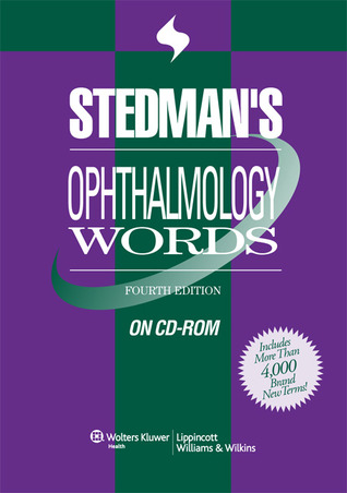 Stedmans Ophthalmology Words, Fourth Edition, on CD-ROM  by  Stedmans