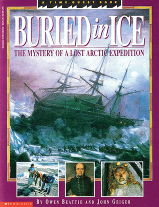 Book Cover of Buried in Ice: The Mystery of a Lost Arctic Expedition linked to Goodreads listing