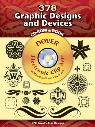 380 Graphic Designs and Devices CD-ROM and Book Dover Publications Inc.