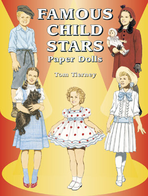 Famous Child Stars Paper Dolls Tom Tierney