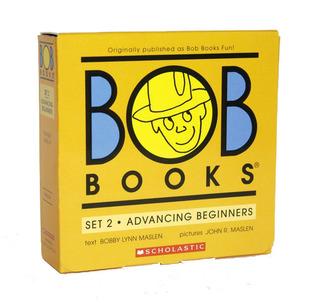 Bob Books Fun! Level A, Set 2 (re-released as Bob Books Set 2- Advancing Beginners) Bob