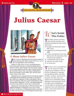 Julius Caesar (Unlocking Shakespeare, Grades 5 and up)  by  Jeannette Sanderson