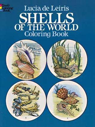 Shells of the World Coloring Book  by  Lucia de Leiris