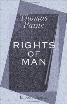 Rights of Man  by Thomas Paine />