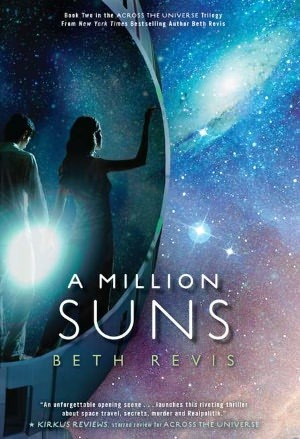 A Million Suns Beth Revis book cover