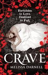 Review: 3 stars to Crave by Melissa Darnell #YA #Witches #Vampires #Romance