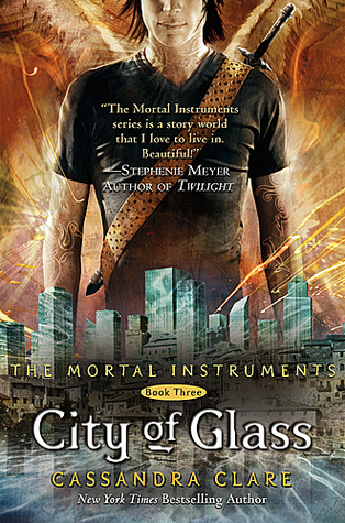 City of Glass by Cassandra Clare book cover