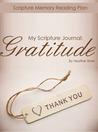 My Scripture Journal: Gratitude