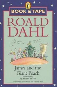 James And The Giant Peach [Book & Tape]  by  Roald Dahl