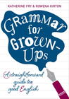 Grammar for Grown-ups