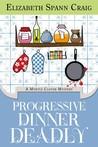 Progressive Dinner Deadly (Myrtle Clover Cozy Mysteries #2)