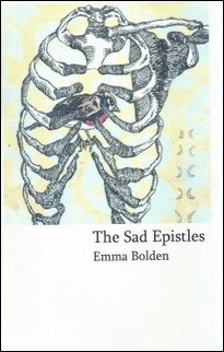 Cover of The Sad Epistles by Emma Bolden