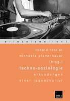 Techno  Soziologie. Erkundungen Einer Jugendkultur Ronald Hitzler