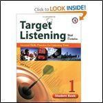 Target Listening With Dictation, Student Book 1, General Skills Practice For Listening Tests Jeff Zeter
