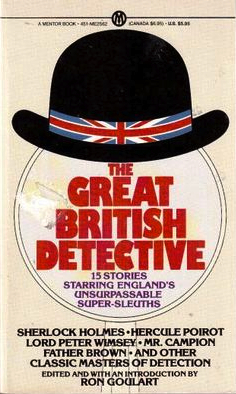 The Great British Detective  by  Ron Goulart