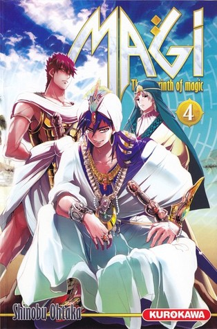 Magi: The Labyrinth of Magic, Volume 4