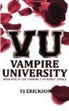 Vampire University by V.J. Erickson