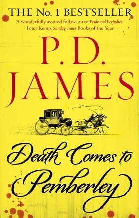 Death Comes to Pemberley by P.D. James book cover image
