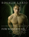 For Want of an Angel (The Fallen Warriors #3)