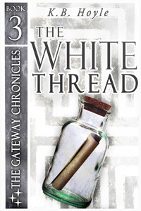 cover The White Thread by K. B. Hoyle