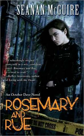Review: Rosemary and Rue by Seanan McGuire (@jessicadhaluska, @seananmcguire, @dawbooks)