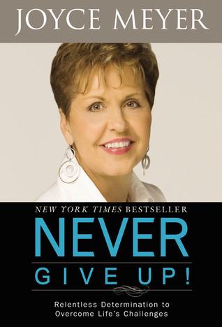 Joyce meyer never give up book